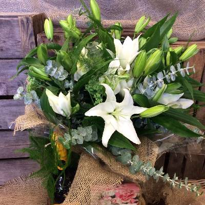 Pure Lily Bouquet