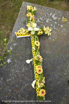 Modern Yellow Cross