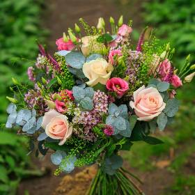 Dusky Rose Bouquet