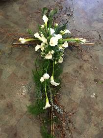 Willow & Calla Cross